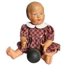 French celluloid Petit Colin doll Colinette