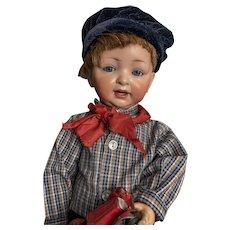 Flirty Eyes German Character Toddler Boy by Hertel & Schwab  doll 152