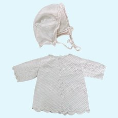 Antique set of clothes for Bebe Doll