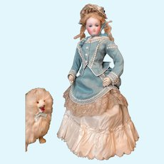 Exceptional French Fashion Doll type Barrois