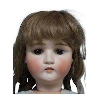 "Unusual & Big 27"" Antique Doll Made in Austria"