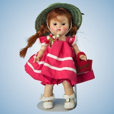 """Vogue Strung Ginny in 1953 Tiny Miss """"Glad"""" Outfit"""