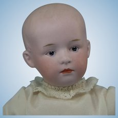 "9"" Gebruder Heubach Pouty Baby with Nice Composition Body"