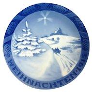 1915 Royal Copenhagen Christmas Plate – Weihnachten