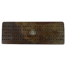 Cribbage Board - British Royal Navy Military Insignia