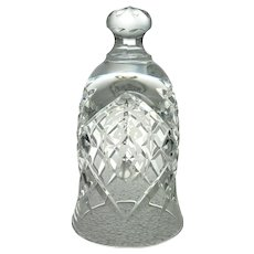 1993 Waterford Crystal Christmas Bell