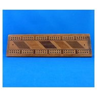 Wooden Cribbage Board