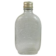 Old Quaker Embossed Bottle with Original Lid