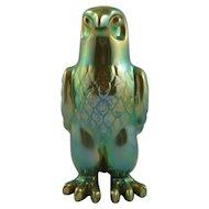 Zsolnay Green Eosin Falcon