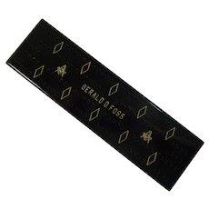 Cribbage Board with Masonic Symbols