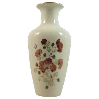 Lovely Hand Painted Zsolnay Vase