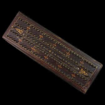 Hedgehog Cribbage Board