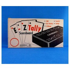 E–Z Tally Scoreboard, Newmac Company