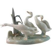 Lladro Ducks/Geese Group