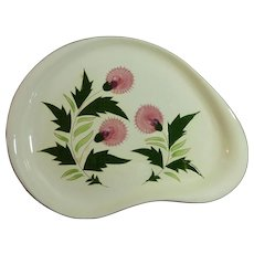 Stangl Thistle Platter