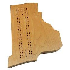 Cribbage Board – Vermont