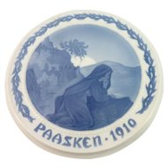 1910 Bing and Grondahl Easter Plate