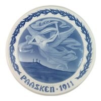 1911 Bing and Grondahl Easter Plate
