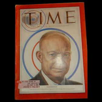 Time Magazine June 16, 1952