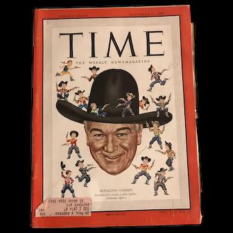 Time Magazine, November 27, 1950