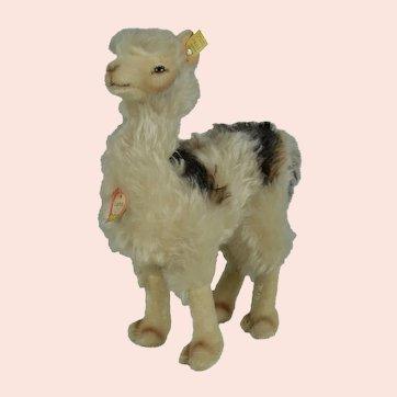 "Fabulous 1950s Steiff ""Lama"" w Original Tags"