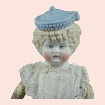 Fabulous Hertwig w Powder Blue Molded Hat