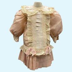 "Sweet Vintage Pink dress for 20-21"" Doll"