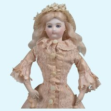 Stunning Petite Early French Fashion Doll