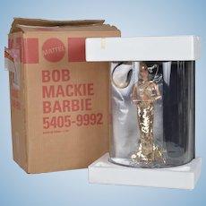 Amazing Bob Mackie 1990 Gold Barbie - NRFB w Original Shipper