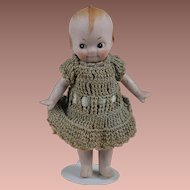 Adorable All Bisque Kewpie-Like Googly