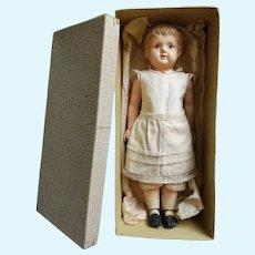 "Vintage Schutz Marke Celluloid Doll Original Box Stunning Full Underwear 10""tall"