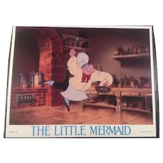 Vintage Little Mermaid Lobby Card #6 - 1989