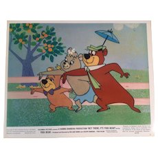 "Vintage Color Movie Photograph "" Hey There It's Yogi Bear "" -#6 - 1964"