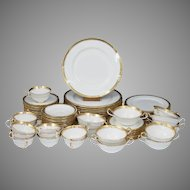 77 pieces Aynsley Majestic Dinner Set