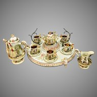 Capodimonte Complete Tea Set