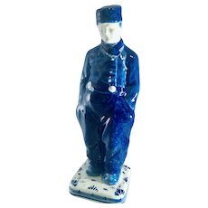 Delft Blue Man Figurines