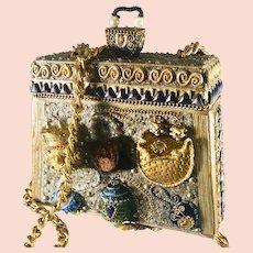Vintage Mary Frances evening purse
