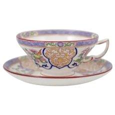 Set of 4 Minton tea cup & saucers