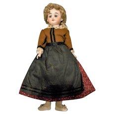 "11"" Simon Halbig 1010 Shoulder Head Doll, Excellent Condition"