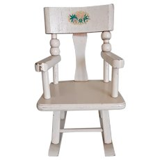 """Vintage Strombecker 8"""" Betsy McCall Rocking Chair"""