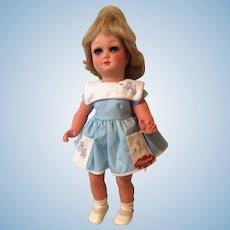 """15 1/2"""" Flirty Eyed Plastic Tortulon Wernicke Nicaput Doll, A/O Tagged"""