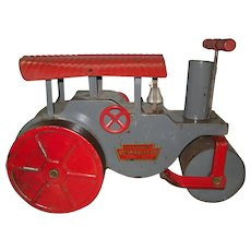 """1920s Keystone """"Ride 'Em"""" Toy Steam Roller"""