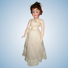 "19""  French Poupee Character Lady Doll,  Favorite No. 2, A. Lanternier & Cie-1915"
