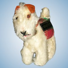 Vintage 1950s Steiff Fox Terrier Pup Sparky for Vogue Ginny Dolls