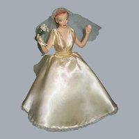 Margit Nilsen Type Bride Miniature Fashion Mannequin , Advertising Display