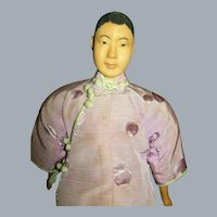 """11"""" Antique Door of Hope Mission Chinese Woman Doll"""