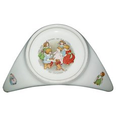 Underwoods High Chair Baby Plate Patented June 11, 1912