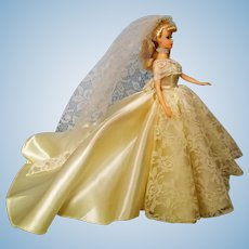 Halina's Doll Fashions of Chicago Barbie Wedding Gown and Veil $900
