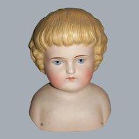Alt, Beck & Gottschalck, ABG Bisque Doll Shoulder-head @1890