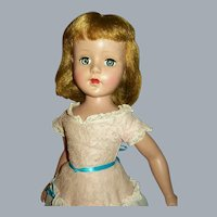 """Vintage 21"""" Painted Early Hard Plastic Sweet Sue for Montgomery Wards"""